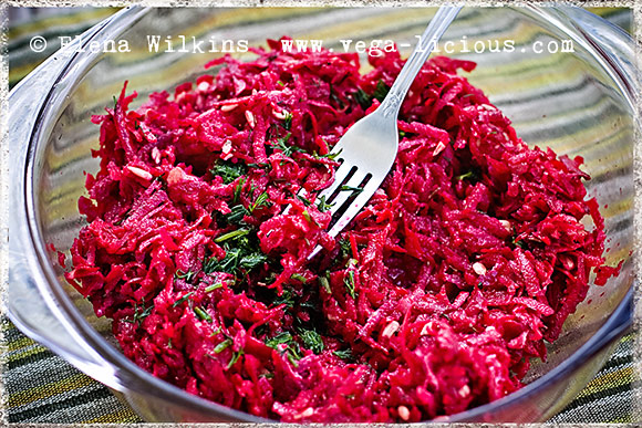 Red Beet Salad, Vegan Breakfast Oatmeal & Avocado Sandwich ...