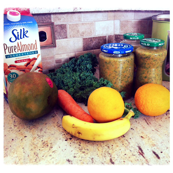 carrot green smoothie recipe
