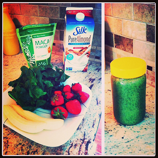 maca green smoothie recipe