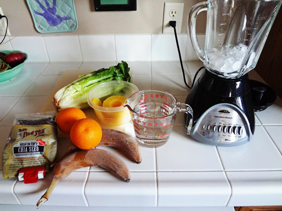 romaine green smoothie recipe