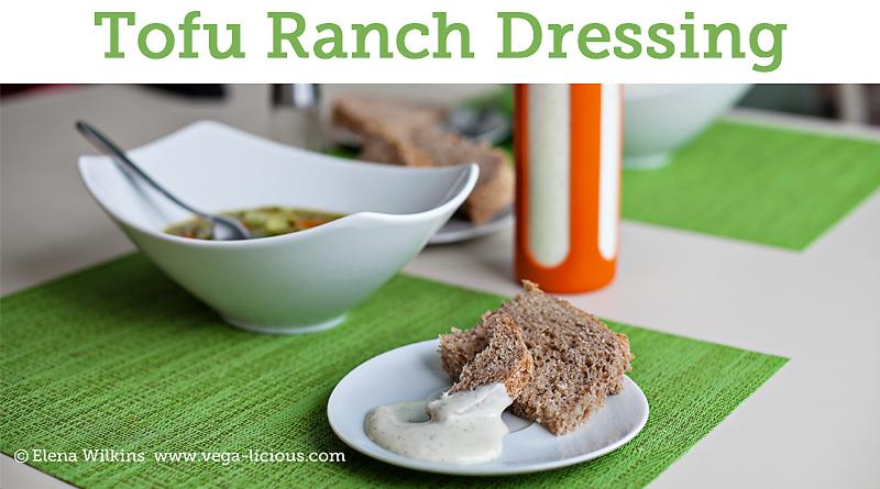 Homemade Vegan Ranch Dressing Recipe Vegalicious