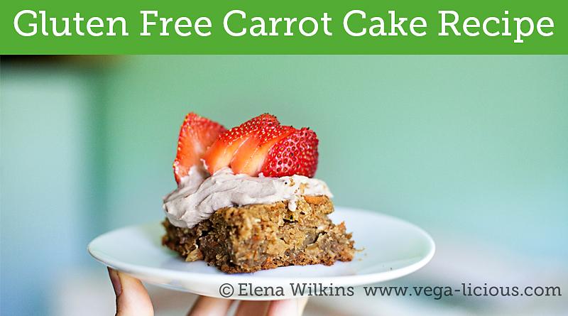 Healthy Low Fat Birthday Cake Recipes: Gluten Free Vegan Carrot Cake Recipe