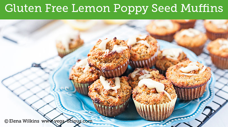 Gluten And Dairy Free Beet And Poppy Seed Muffins Recipe — Dishmaps