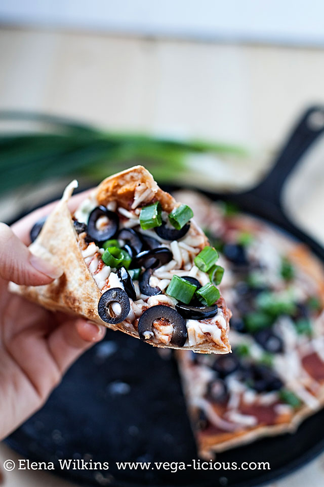 vegan pizza