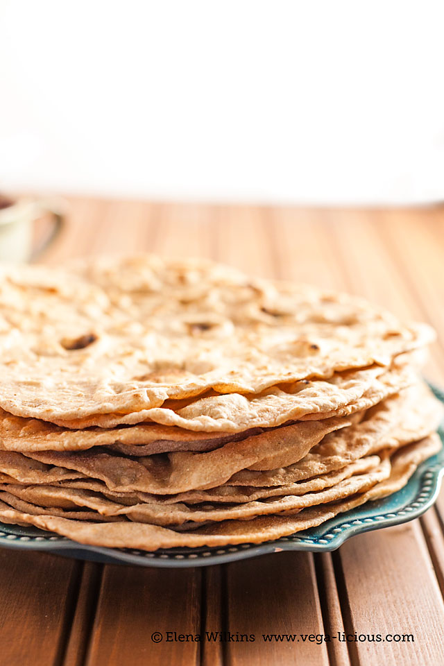 Homemade Whole Wheat Tortilla is a healthy, unleavened option that takes only minutes to make. Enjoy with soups, dipping or for waist slimming veggie wraps.