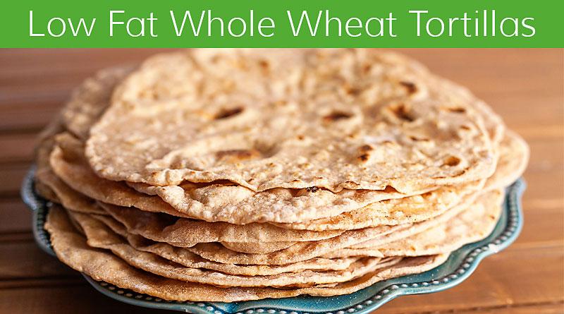Homemade low fat whole wheat tortilla recipe vegalicious