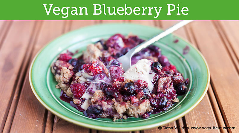 Easy Vegan Blueberry Pie Recipe